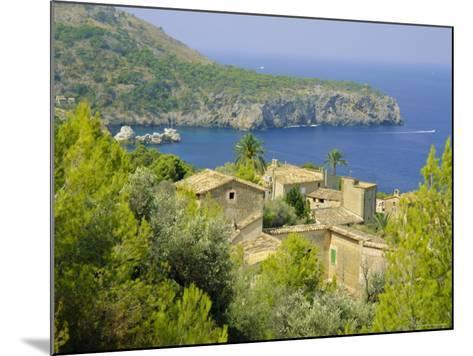 Lluch Alcari, Where Picasso Once Lived, on the Northwest Coast of the Island, Balearic Islands-Kathy Collins-Mounted Photographic Print