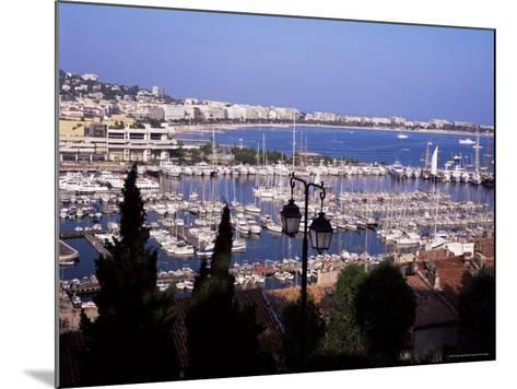 Cannes and the Festival Theatre, Alpes-Maritimes, French Riviera, France-Kathy Collins-Mounted Photographic Print