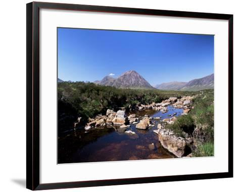 Bauchaille Etive, Glencoe, Highland Region, Scotland, United Kingdom, Euorpe-Kathy Collins-Framed Art Print