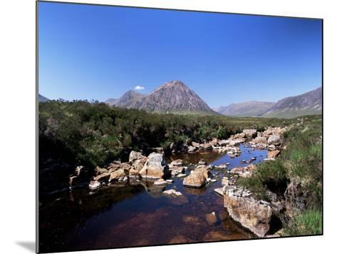 Bauchaille Etive, Glencoe, Highland Region, Scotland, United Kingdom, Euorpe-Kathy Collins-Mounted Photographic Print
