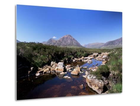 Bauchaille Etive, Glencoe, Highland Region, Scotland, United Kingdom, Euorpe-Kathy Collins-Metal Print