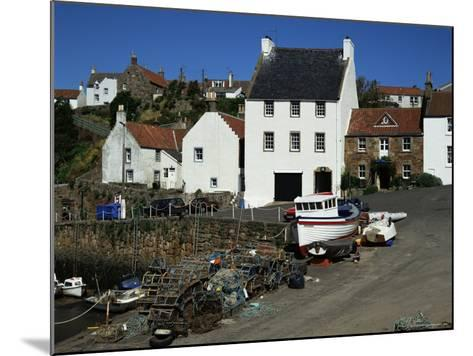 Crail Harbour, Neuk of Fife, Scotland, United Kingdom-Kathy Collins-Mounted Photographic Print