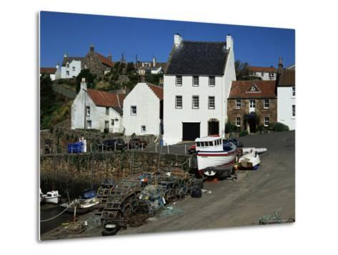 Crail Harbour, Neuk of Fife, Scotland, United Kingdom-Kathy Collins-Metal Print