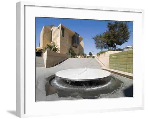 Our Lady of the Angels Cathedral, Los Angeles, California, USA-Ethel Davies-Framed Art Print