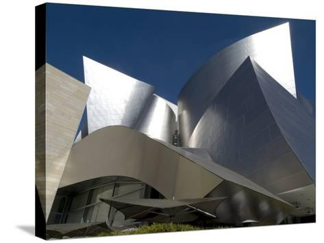 Walt Disney Concert Hall, Part of Los Angeles Music Center, Frank Gehry Architect, Los Angeles-Ethel Davies-Stretched Canvas Print
