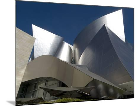 Walt Disney Concert Hall, Part of Los Angeles Music Center, Frank Gehry Architect, Los Angeles-Ethel Davies-Mounted Photographic Print