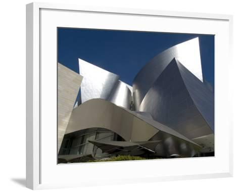 Walt Disney Concert Hall, Part of Los Angeles Music Center, Frank Gehry Architect, Los Angeles-Ethel Davies-Framed Art Print