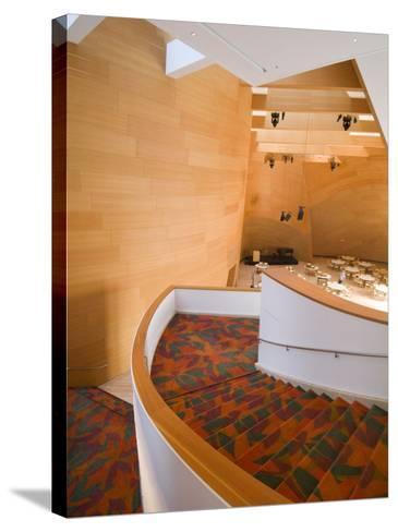 Interior, Walt Disney Concert Hall, Part of Los Angeles Music Center, Downtown-Ethel Davies-Stretched Canvas Print