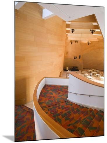 Interior, Walt Disney Concert Hall, Part of Los Angeles Music Center, Downtown-Ethel Davies-Mounted Photographic Print