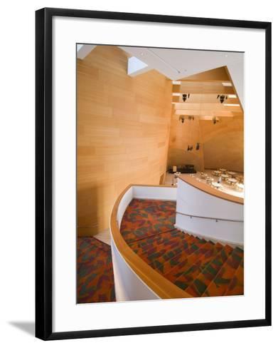 Interior, Walt Disney Concert Hall, Part of Los Angeles Music Center, Downtown-Ethel Davies-Framed Art Print