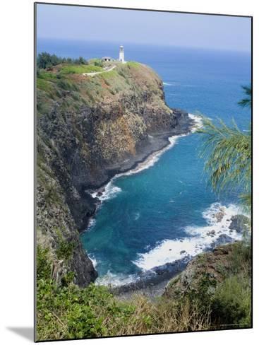 Kilauea Lighthouse, Kilauea Point, National Wildlife Refuge, Hawaii-Ethel Davies-Mounted Photographic Print