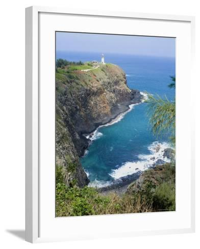 Kilauea Lighthouse, Kilauea Point, National Wildlife Refuge, Hawaii-Ethel Davies-Framed Art Print