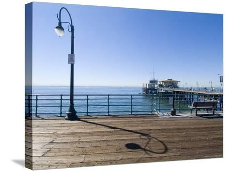 Santa Monica Pier, Santa Monica, California, USA-Ethel Davies-Stretched Canvas Print