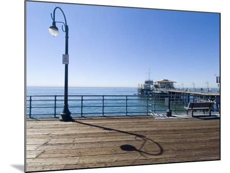 Santa Monica Pier, Santa Monica, California, USA-Ethel Davies-Mounted Photographic Print