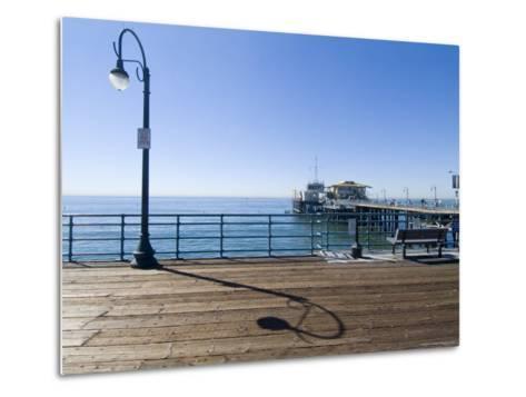 Santa Monica Pier, Santa Monica, California, USA-Ethel Davies-Metal Print