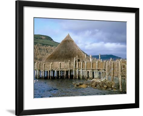 Iron Age Crannog Centre, Loch Tay, Scotland, United Kingdom-Ethel Davies-Framed Art Print
