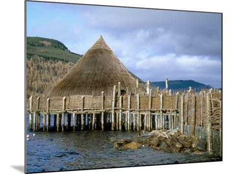 Iron Age Crannog Centre, Loch Tay, Scotland, United Kingdom-Ethel Davies-Mounted Photographic Print