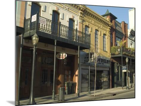 Dauphin Street, Downtown, Mobile, Alabama, USA-Ethel Davies-Mounted Photographic Print