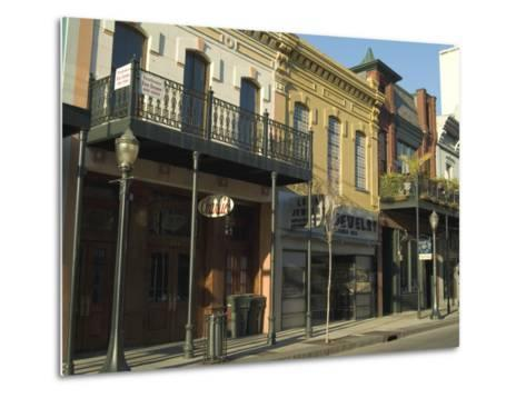 Dauphin Street, Downtown, Mobile, Alabama, USA-Ethel Davies-Metal Print