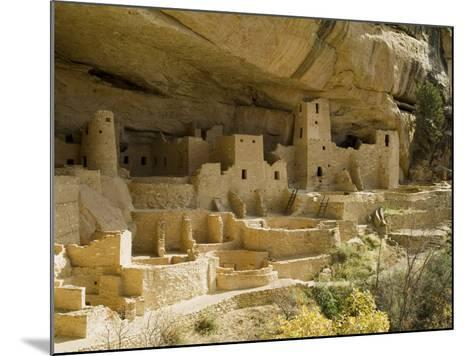 Cliff Palace, Mesa Verde National Park, Unesco World Heritage Site, Colorado, USA-Ethel Davies-Mounted Photographic Print