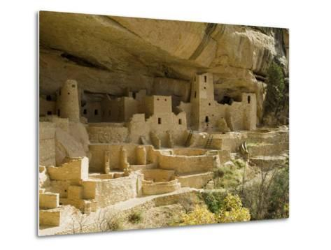 Cliff Palace, Mesa Verde National Park, Unesco World Heritage Site, Colorado, USA-Ethel Davies-Metal Print