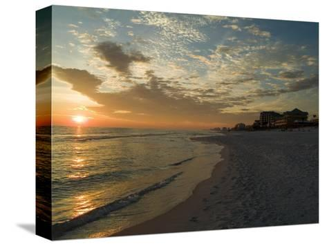 Sunset, Destin, Florida, USA-Ethel Davies-Stretched Canvas Print