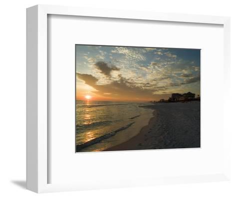 Sunset, Destin, Florida, USA-Ethel Davies-Framed Art Print