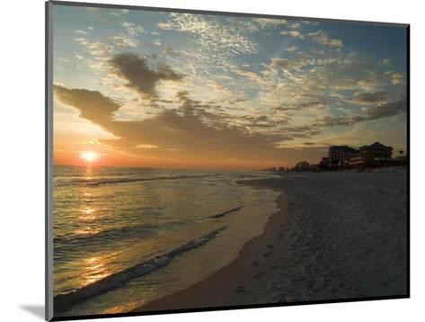 Sunset, Destin, Florida, USA-Ethel Davies-Mounted Photographic Print