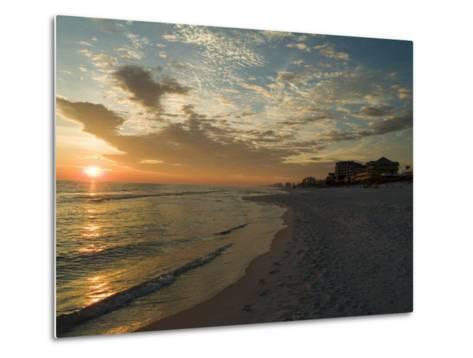 Sunset, Destin, Florida, USA-Ethel Davies-Metal Print