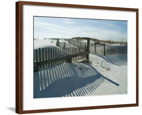 Emerald Coast, Florida, USA-Ethel Davies-Framed Art Print
