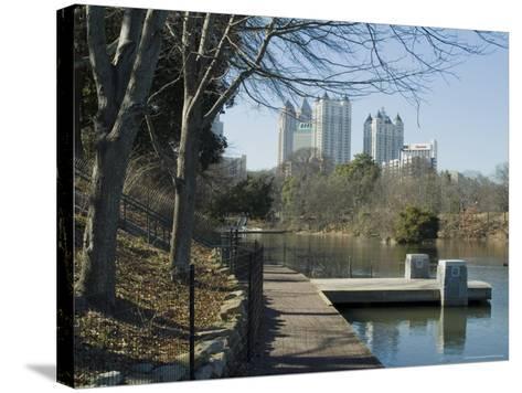 Inman Park, Atlanta, Georgia, USA-Ethel Davies-Stretched Canvas Print