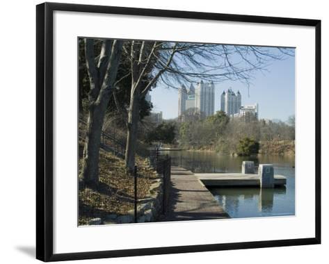Inman Park, Atlanta, Georgia, USA-Ethel Davies-Framed Art Print