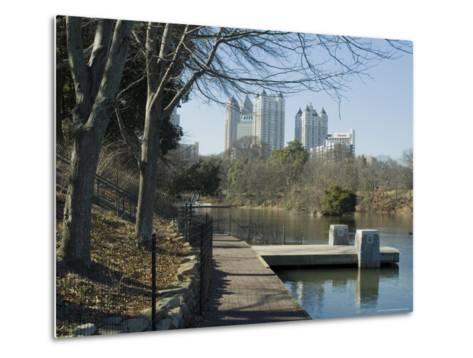 Inman Park, Atlanta, Georgia, USA-Ethel Davies-Metal Print