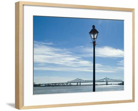 Mississippi River, New Orleans, Louisiana, USA-Ethel Davies-Framed Art Print