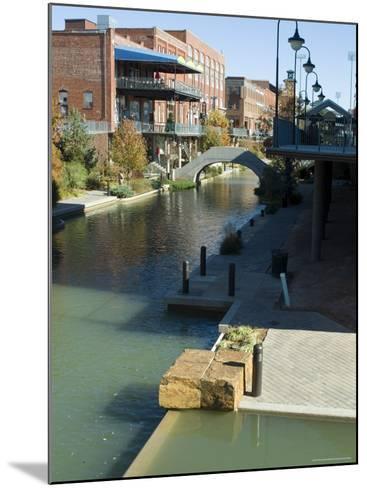 Bricktown, Oklahoma City, Oklahoma, USA-Ethel Davies-Mounted Photographic Print