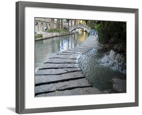 Riverwalk, San Antonio, Texas, USA-Ethel Davies-Framed Art Print