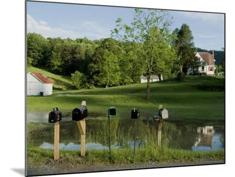 Rural Postboxes, West Virginia, USA-Ethel Davies-Mounted Photographic Print