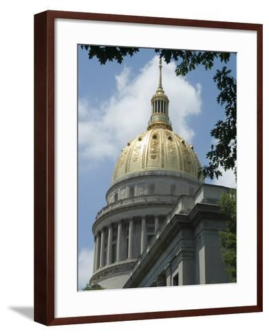 State Capitol, Charleston, West Virginia, USA-Ethel Davies-Framed Art Print