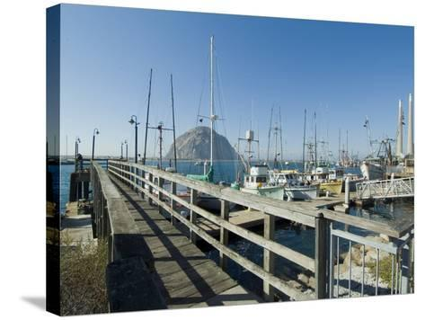 Morro Bay, California, USA-Ethel Davies-Stretched Canvas Print