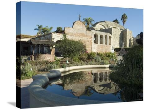 Mission San Jaun Capistrano, California, USA-Ethel Davies-Stretched Canvas Print