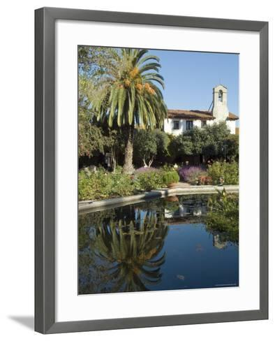 Mission San Jaun Capistrano, California, USA-Ethel Davies-Framed Art Print