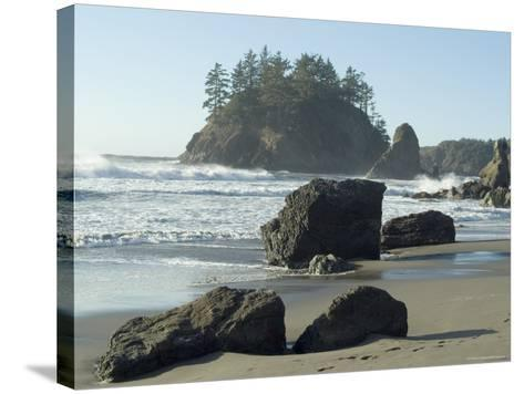 Trinidad State Beach, California, USA-Ethel Davies-Stretched Canvas Print