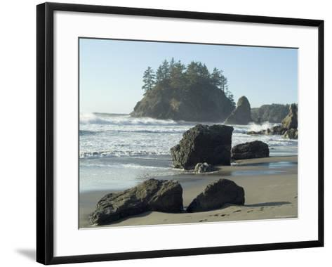 Trinidad State Beach, California, USA-Ethel Davies-Framed Art Print