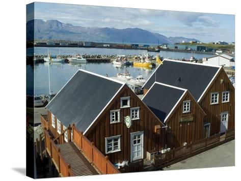 Husavik, Iceland, Polar Regions-Ethel Davies-Stretched Canvas Print