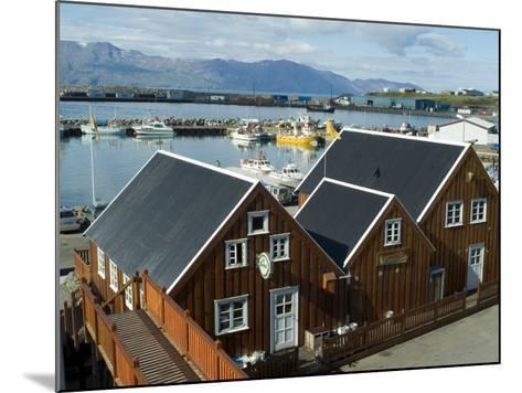 Husavik, Iceland, Polar Regions-Ethel Davies-Mounted Photographic Print