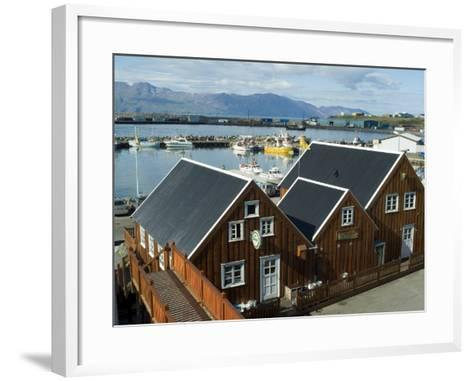 Husavik, Iceland, Polar Regions-Ethel Davies-Framed Art Print