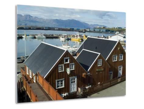 Husavik, Iceland, Polar Regions-Ethel Davies-Metal Print