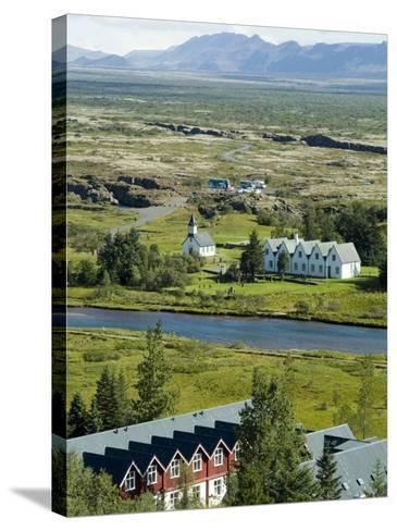 Thingvellir, Iceland-Ethel Davies-Stretched Canvas Print