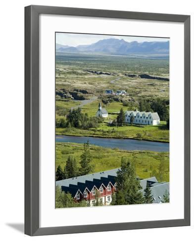 Thingvellir, Iceland-Ethel Davies-Framed Art Print