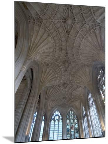 Ceiling Detail, Peterborough Cathedral, Peterborough, Cambridgeshire, England-Ethel Davies-Mounted Photographic Print